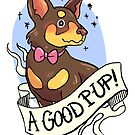 Aa very good pup by Cara McGee