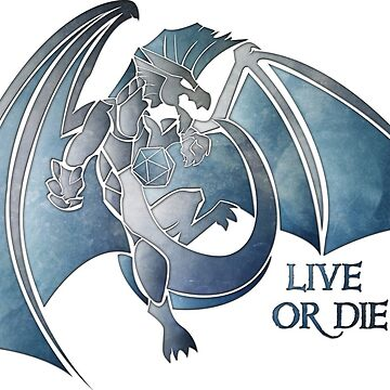 Live or Die - Silver (Version 2) by Kaegro