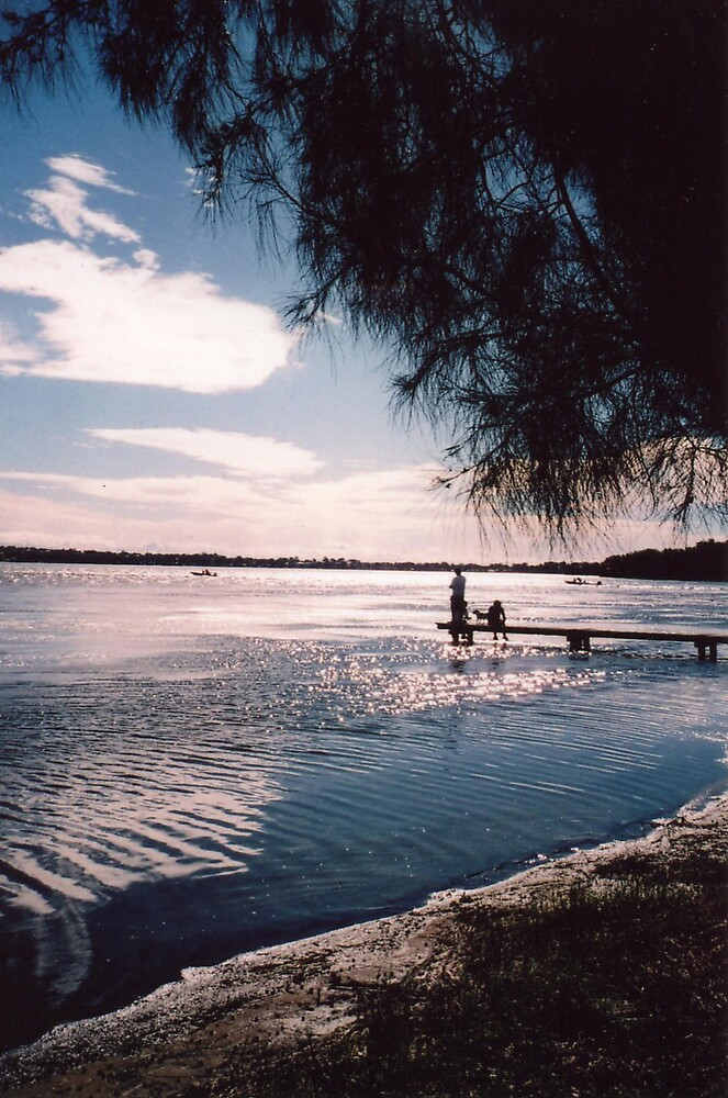 Sunrise, Osborne Park, Toukley, Central Coast, New South Wales by John Howard Reid