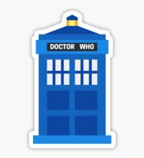Doctor Who Phone Box Sticker