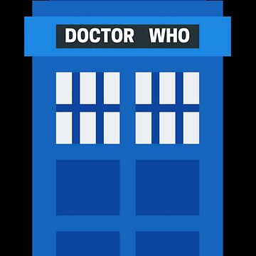 Doctor Who Phone Box by yourfangirltv