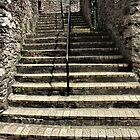 Alma Steps in Kingswear, England by Martha Sherman