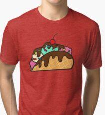 Ice Cream Taco  Tri-blend T-Shirt