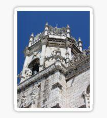 Lisbon, 2011, Santa Maria de Belem Church #4 Sticker