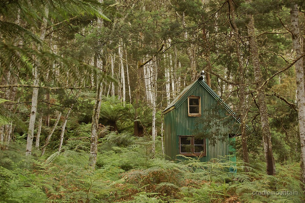 The Green Shack by cradlemountain