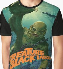 The Creature From The Black Lagoon Modern Graphic T-Shirt