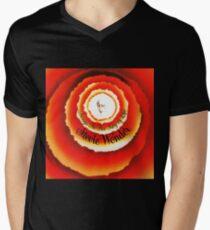 Songs in the key of life T-Shirt mit V-Ausschnitt