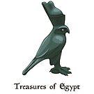 Lapis lazuli bird - treasures of Egypt by Elsbet