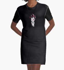 V for Vegeta Graphic T-Shirt Dress