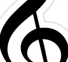 Music note clef Sticker