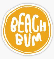 Beach Bum Sticker