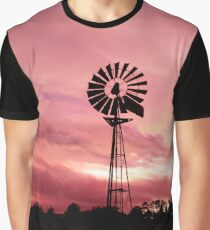 Rosy Mill Graphic T-Shirt