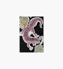 Lámina rígida Gecko de leopardo de las nieves - Luna