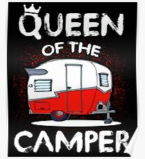 Queen Of The Camper Poster