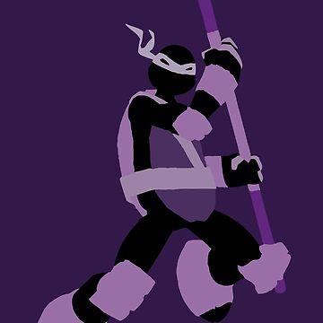 TMNT SILHOUETTES - Donatello 2012 by miztak