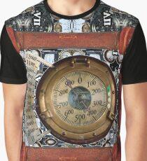Techno Punk Style Graphic T-Shirt