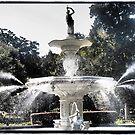 Forsyth Park Fountain by Cyn Piromalli