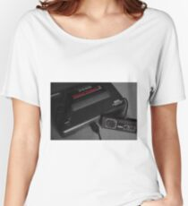 Master System black & white Women's Relaxed Fit T-Shirt