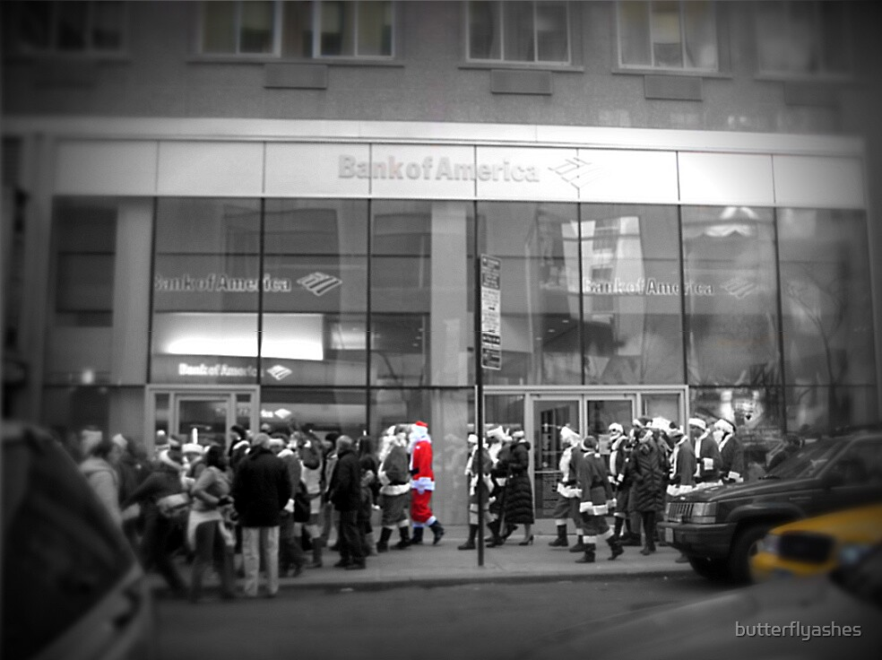 Santa's in New York! by butterflyashes
