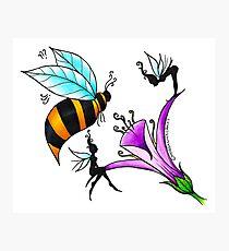 Bee Fairy Photographic Print
