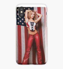 Britney Spears US flag 2000 iPhone Case/Skin