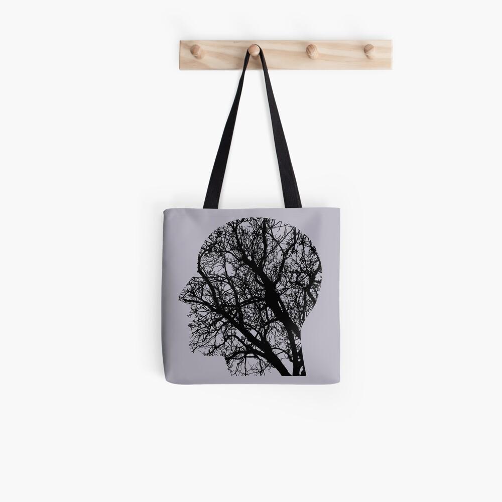 Tree Head Stofftasche