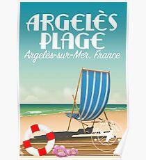 Argelès Plage,Argelès-sur-Mer, France Poster