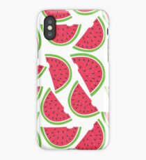 Watercolor Watermelon Pattern iPhone Case/Skin