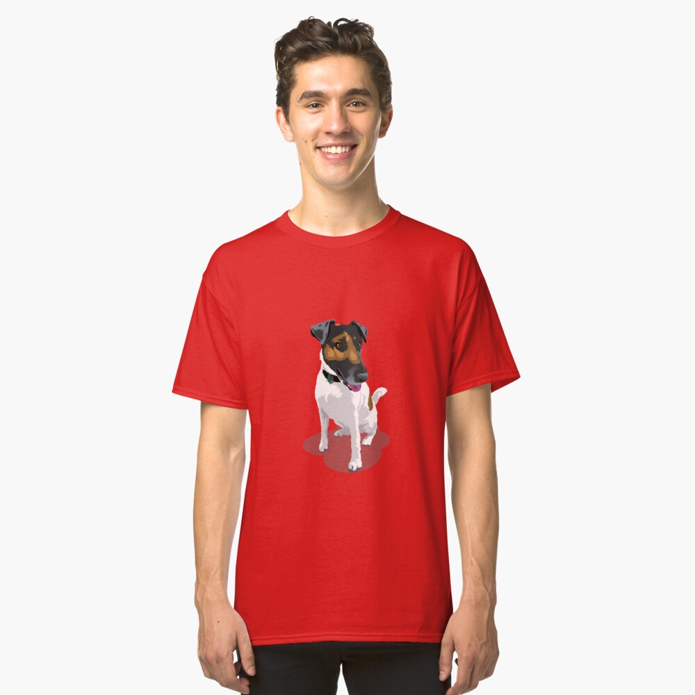Foxy Terrier Classic T-Shirt Front
