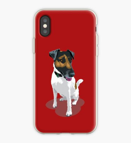 Foxy Terrier iPhone Case