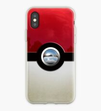 Red Pokeball iPhone Case
