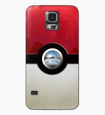 Red Pokeball Case/Skin for Samsung Galaxy