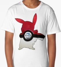Red Pokeball Long T-Shirt