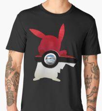 Red Pokeball Men's Premium T-Shirt