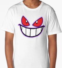 Gengar Monster Purple Pokeball Long T-Shirt
