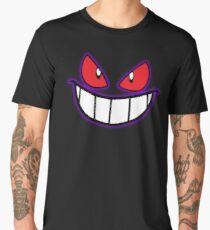 Gengar Monster Purple Pokeball Men's Premium T-Shirt