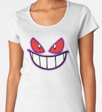 Gengar Monster Purple Pokeball Women's Premium T-Shirt