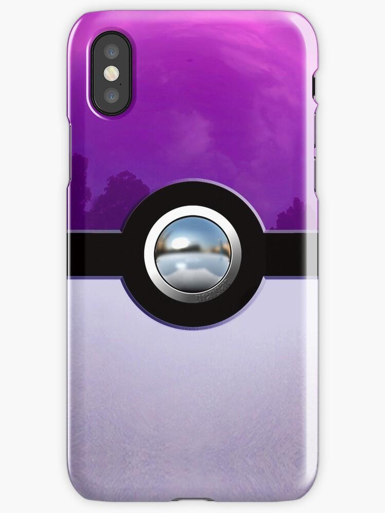 Gengar Monster Purple Pokeball by Dadang Lugu Mara Perdana