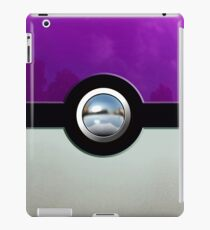 Gengar Monster Purple Pokeball iPad Case/Skin