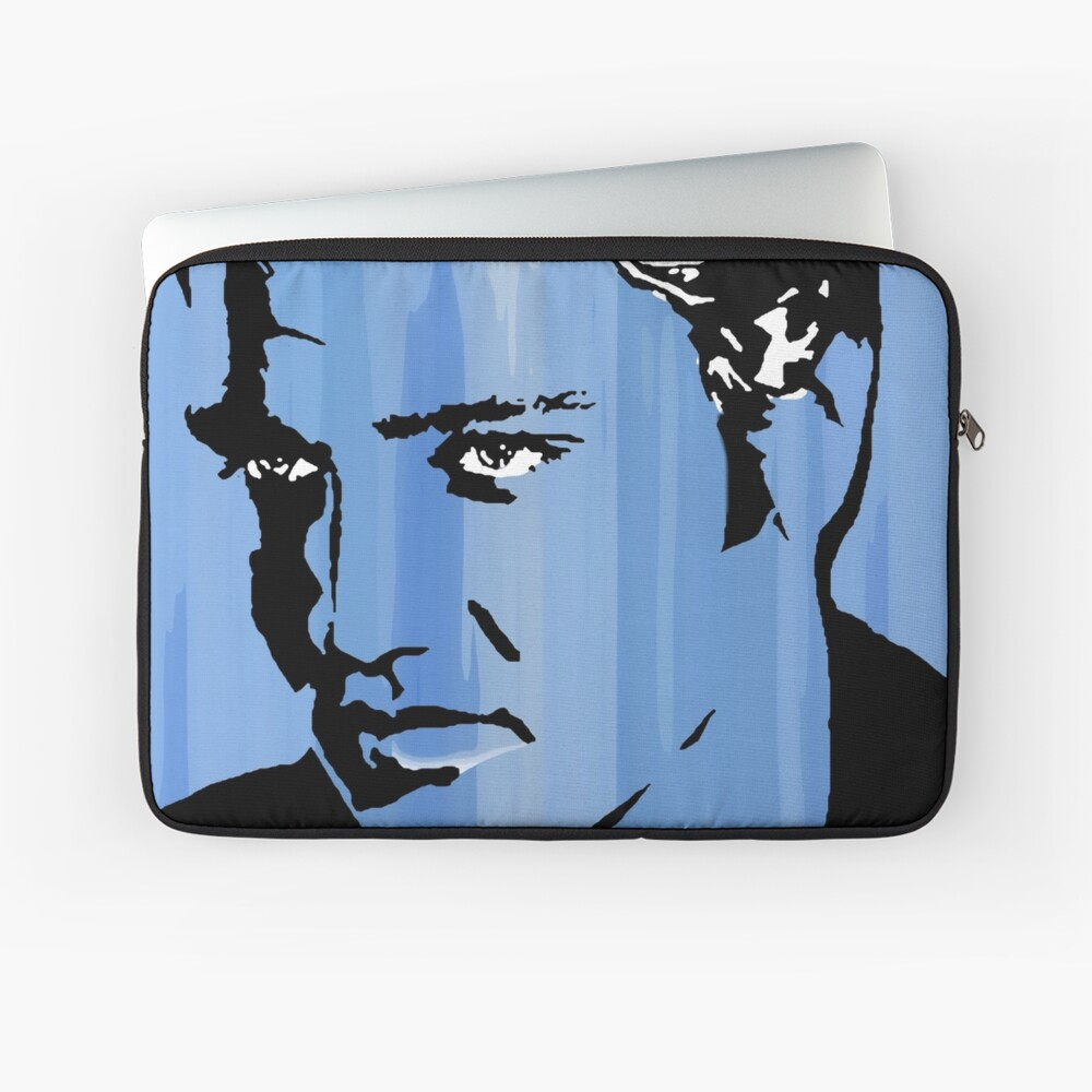 Blue Suede Shoes Laptop Sleeve