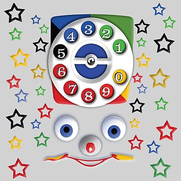 Smiley Toys Dial Phone by dezigner007