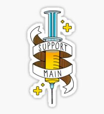 Support Main Sticker