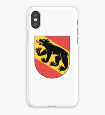 Coat of Arms of Bern Canton iPhone Case