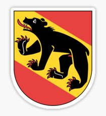 Coat of Arms of Bern Canton Sticker