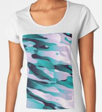 Ice Diving Women's Premium T-Shirt