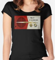 My Grand Father Old Radio Women's Fitted Scoop T-Shirt