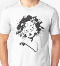 black and white beauty Unisex T-Shirt