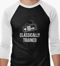 Classically Trained Nintendo T-Shirt Men's Baseball ¾ T-Shirt