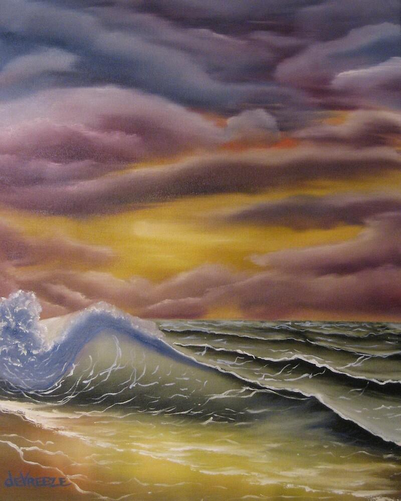 Saltwater Sunset by Erik de Vreeze