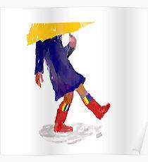 Kickin' Rain Poster